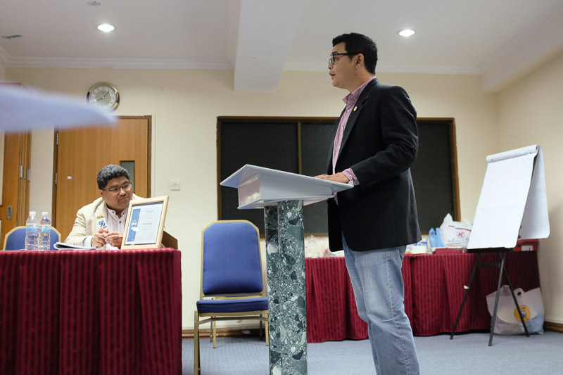 Reuben tells us about UBD Toastmasters Club's unsung heroine.