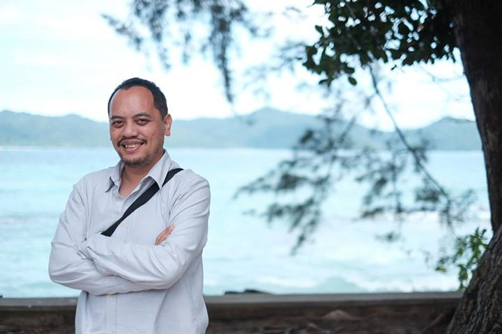A portrait of Rano during a special meeting at Manukan Island, Sabah.