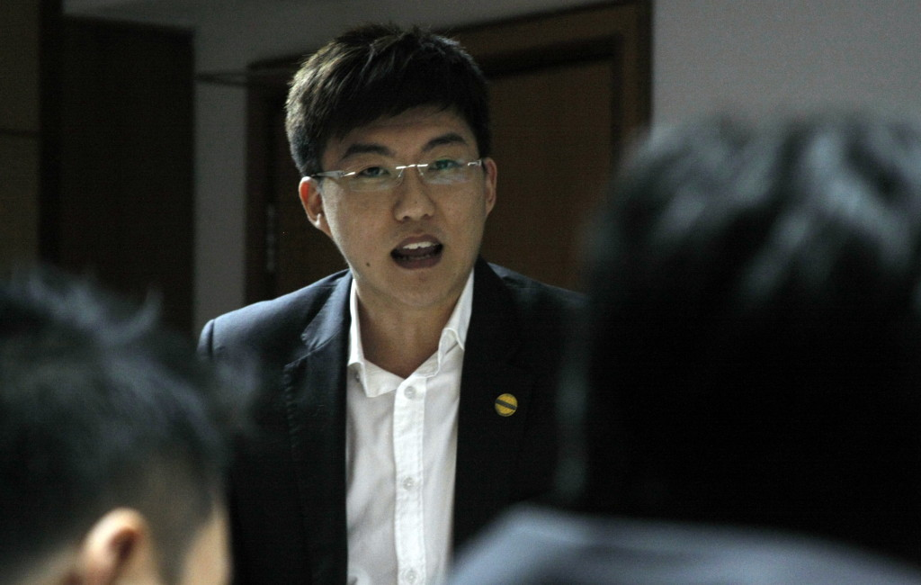 Chris Woo, our president
