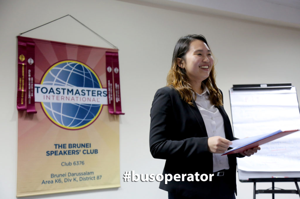 TM Supatra Lee as our melodious Toastmaster of the Evening