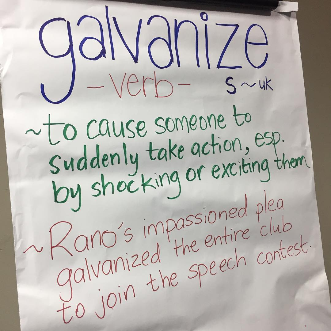 Have you been galvanised!?